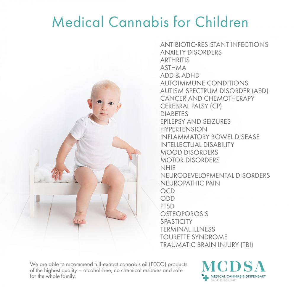 Medical cannabis benefits for children